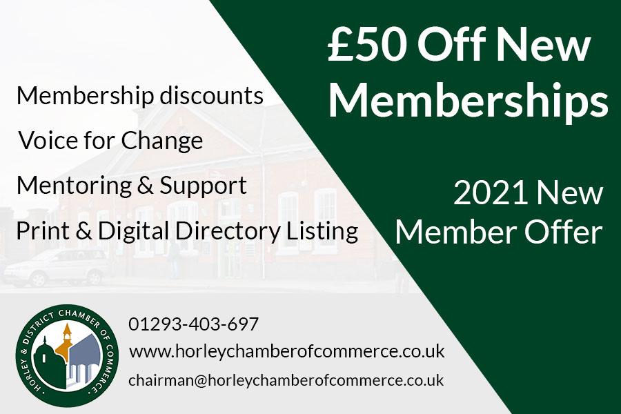 New Member 2021 Offer